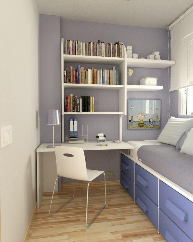 Big decorating ideas for small rooms on a tight budget for Tips for furnishing a small apartment