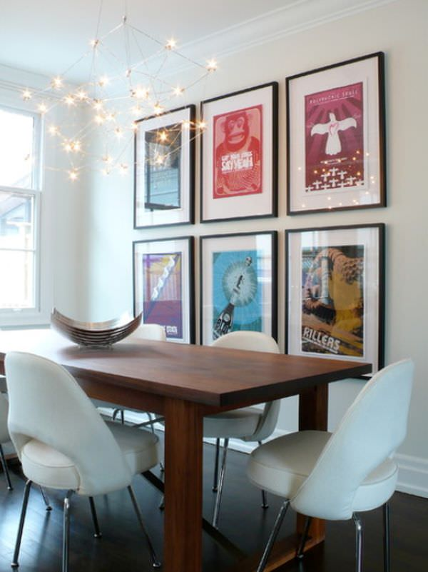 Decorating apartments on a budget decorating your small for Dining room posters