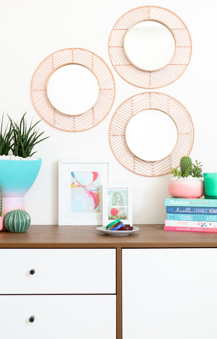 Trending DIY Mirror Projects!   Decorating Your Small Space