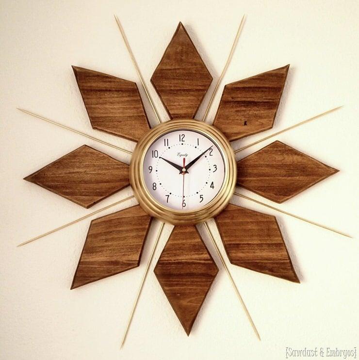 How To Make A Clock Classy Diy Clock Ideas Ohmeohmy Blog