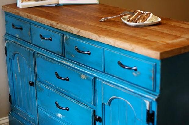 How to make a DIY kitchen Island