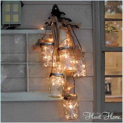 Gorgeous Diy Mason Jar Light Fixtures Ohmeohmy Blog