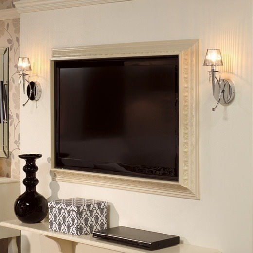 DIY TV Frame: Disguise that Flat Screen! | Decorating Your Small Space