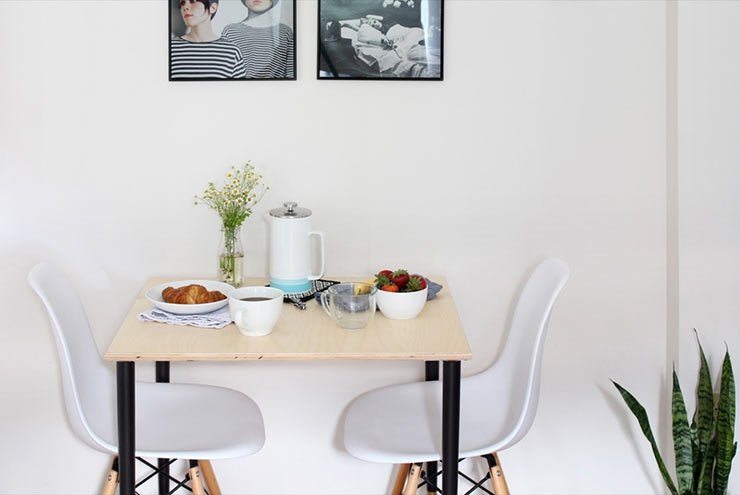 13 Awesome Diy Dining Tables For Small Spaces Ohmeohmy Blog