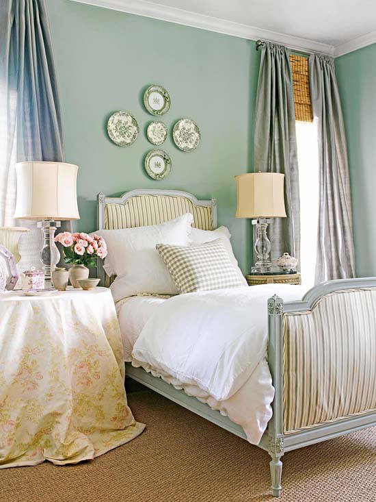 Brighten up your bedroom with a global twist decorating for English cottage bedroom