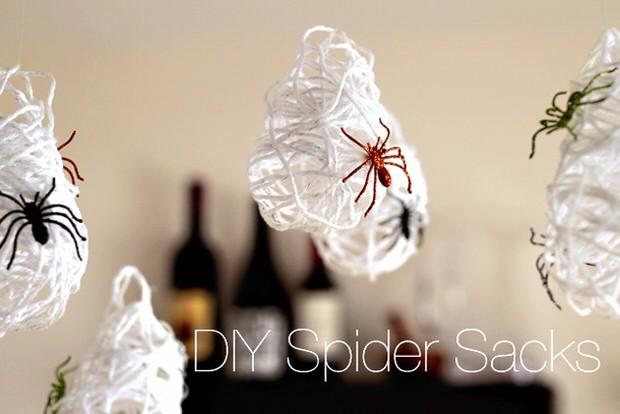 Halloween Spider Sacks