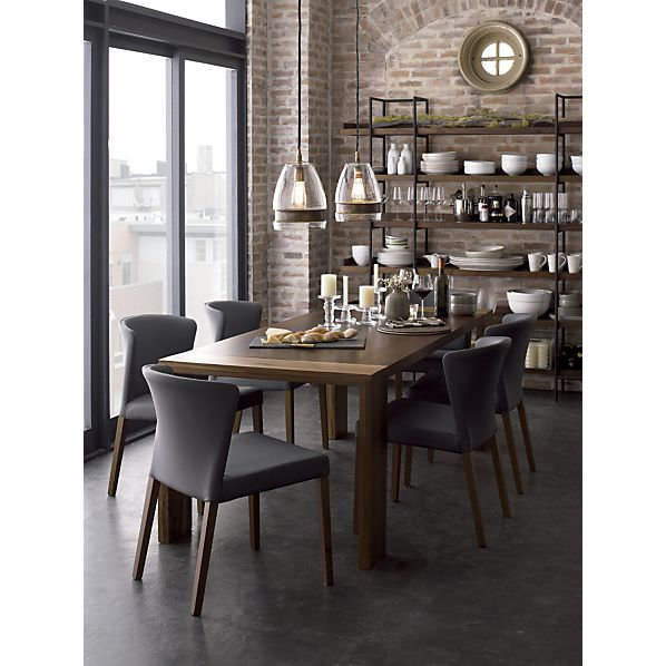 Urban rustic dining room
