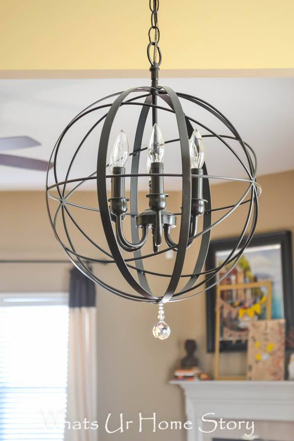 Cool diy lighting updates decorating your small space for Ikea orb light