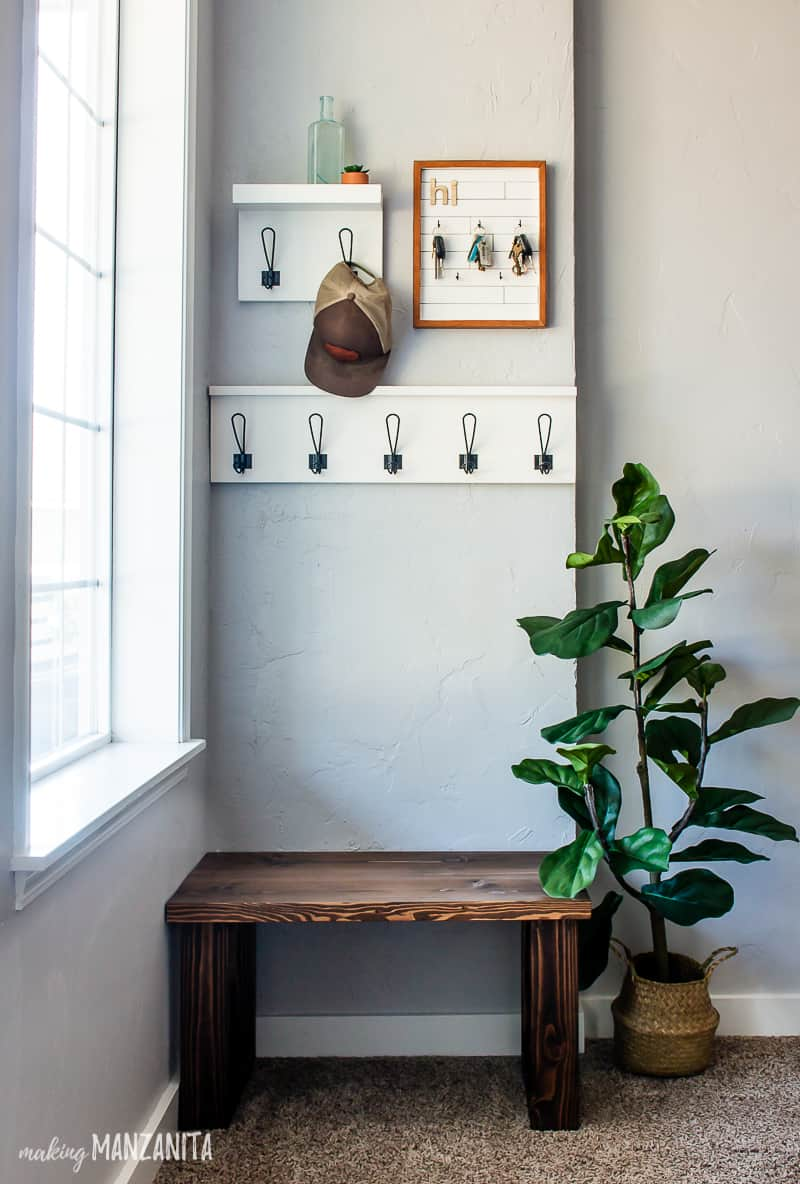 10 Small Entryway Ideas & Storage Projects