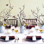 Small home table setting