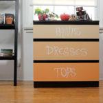 Chalk dresser drawers