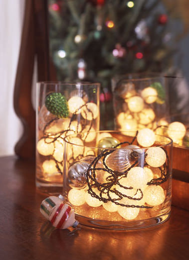 Miniature holiday lights not just for christmas