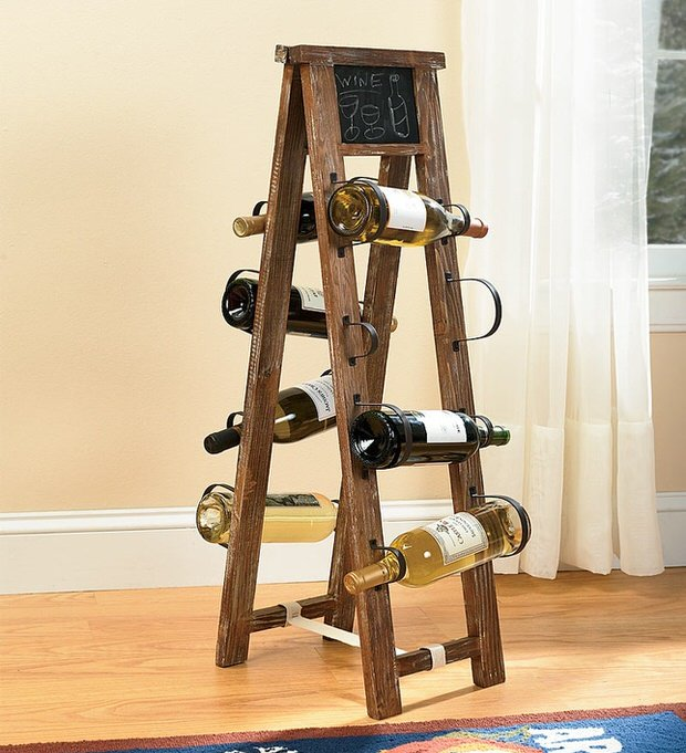 Diy wine racks decorating your small space - Wine rack small space collection ...