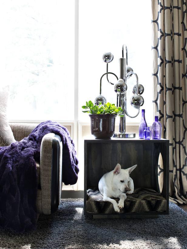 Pet bed table DIY