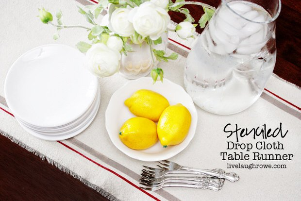 DIY-Drop-Cloth-Table-Runner-with-livelaughrowe.com_