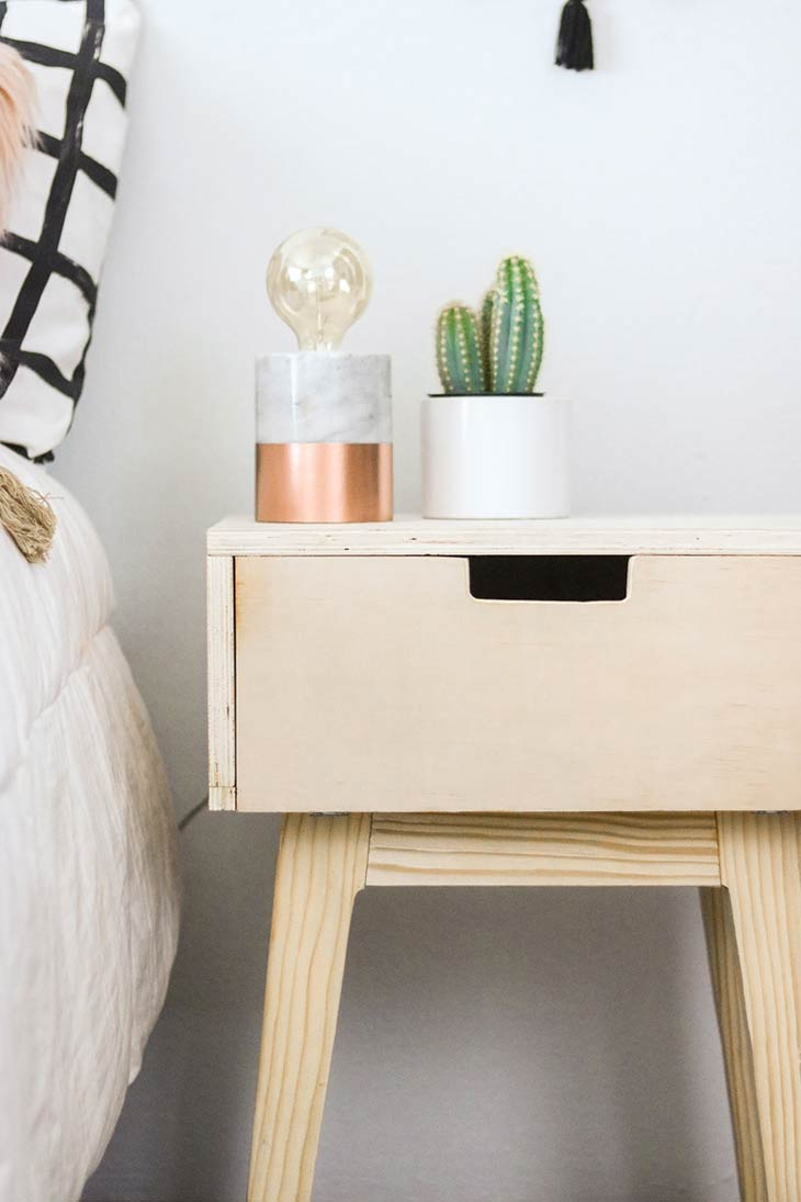 12 Simple Modern Diy Nightstand Ideas Ohmeohmy Blog