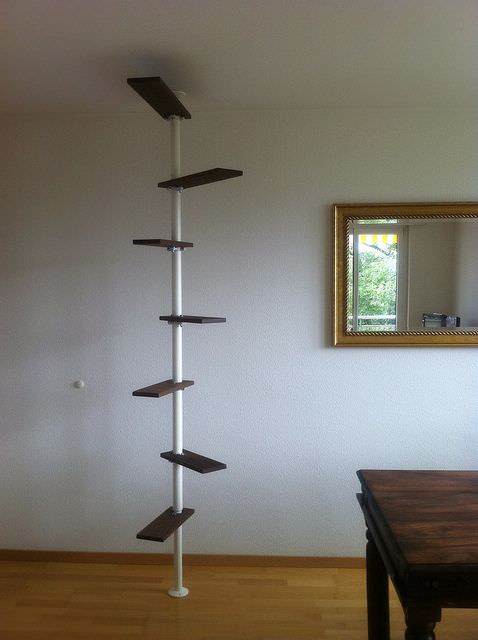 DIY cat ladder