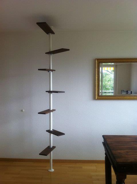 DIY cat ladder