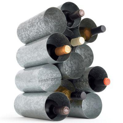 Diy Wine Rack Pvc Pipe Wine Rack From Metal Pipe