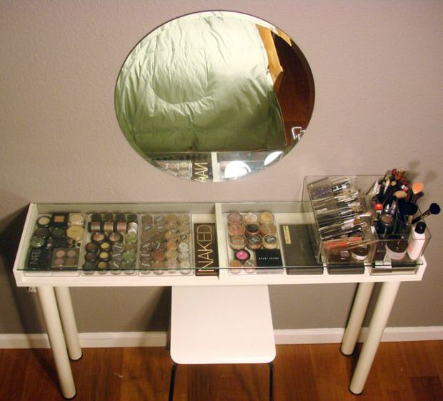 DIY Makeup Storage Ideas Decorating Your Small Space