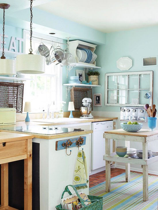 Small kitchen decorating