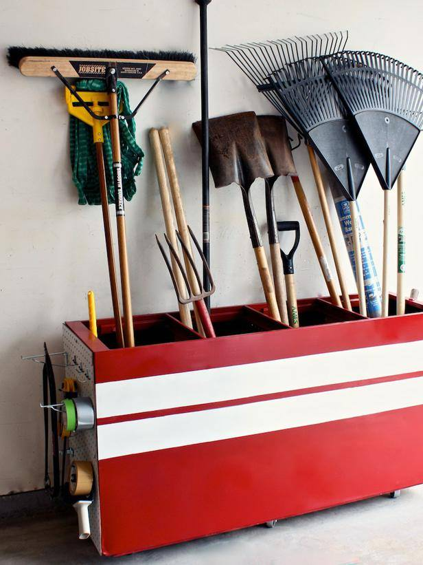 Diy garage storage projects ideas decorating your small space - Cool storage ideas for small spaces concept ...