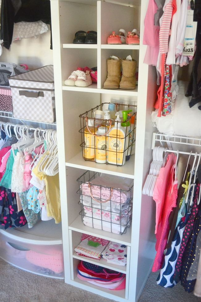 Here Is Another Little Girls Room Closet Organizer That Was A DIY, But They  Used Pre Made Closet Components That They Customized.