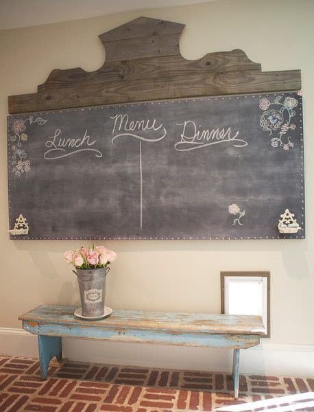 French chalkboard