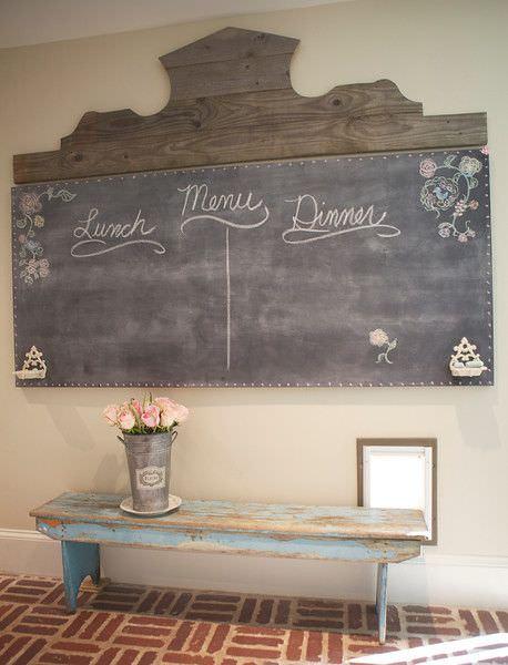 French chalkboard