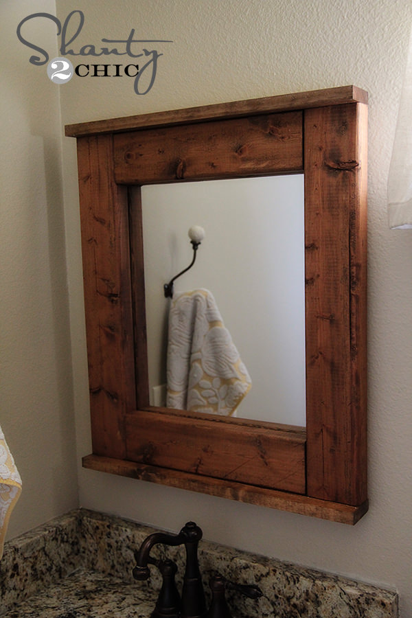 house of hepworth s has an amazing diy mirror from wood shims