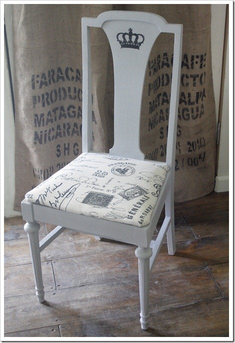 French chair diy