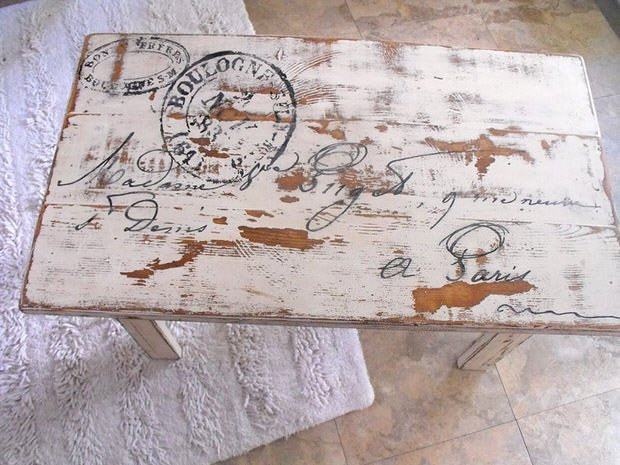 DIY French dining table