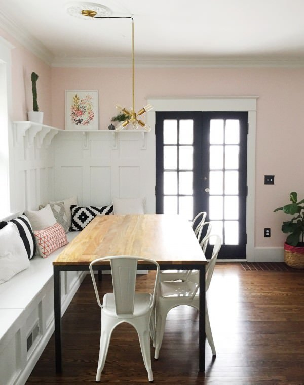 This DIY Built In Banquette From U0027Growing Spacesu0027 Has A Video Tutorial At  The End Of Her Post. Is This Perfect Farmhouse Style, Or What?