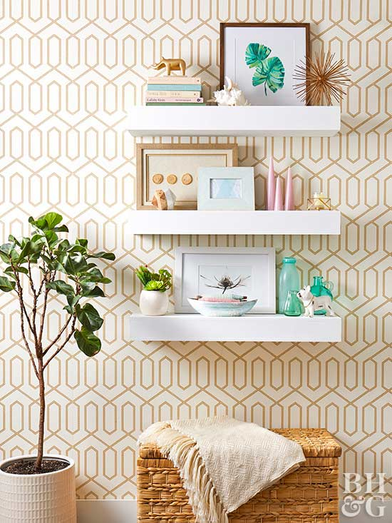 22 Easy DIY Floating Shelves | OhMeOhMy Blog