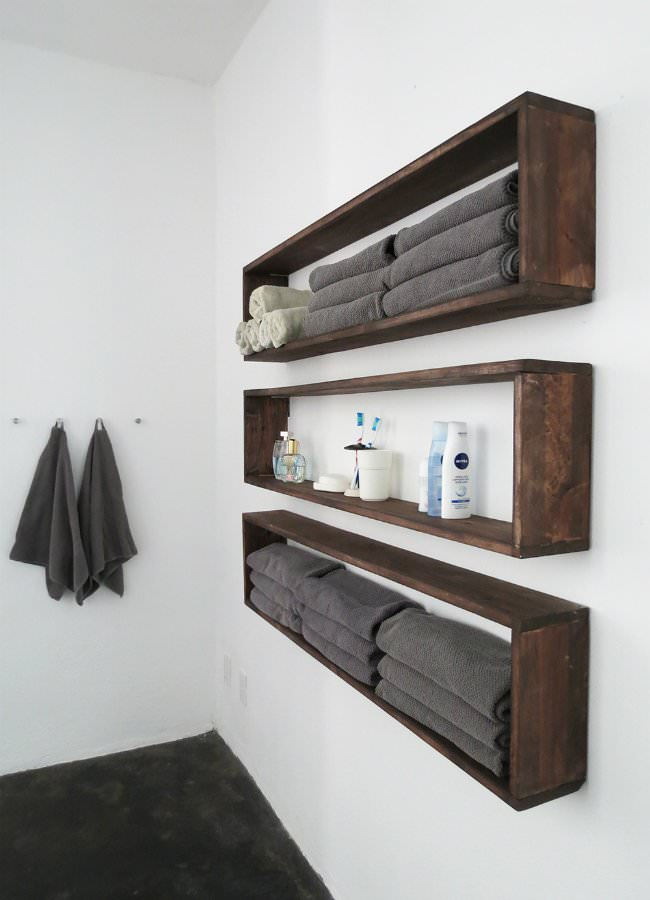 22 Easy Diy Floating Shelves Ohmeohmy Blog