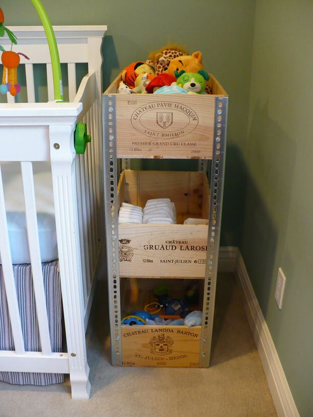 diy wine crate storage projects decorating your small space