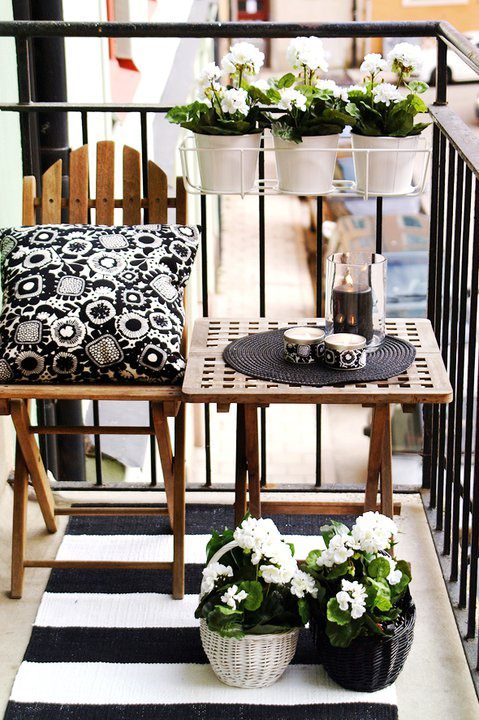 Small porch decorating ideas decorating your small space - Creative deck storage ideas integrating storage to your outdoor room ...
