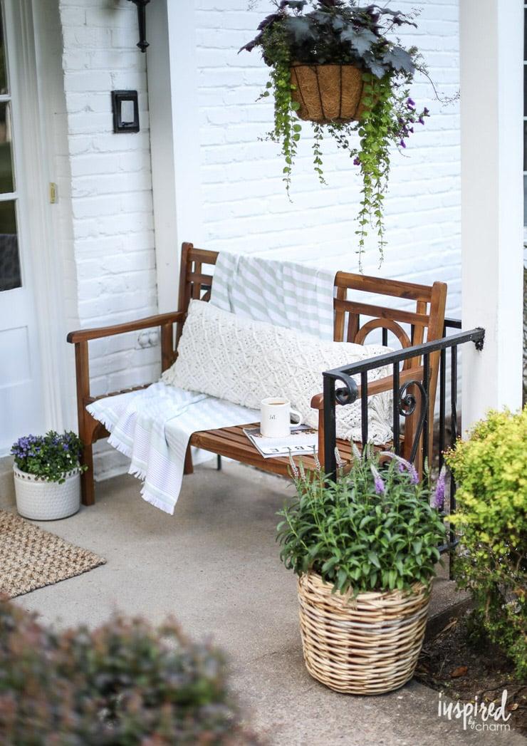 Fresh Fabulous Front Porch And Patio Ideas Ohmeohmy Blog