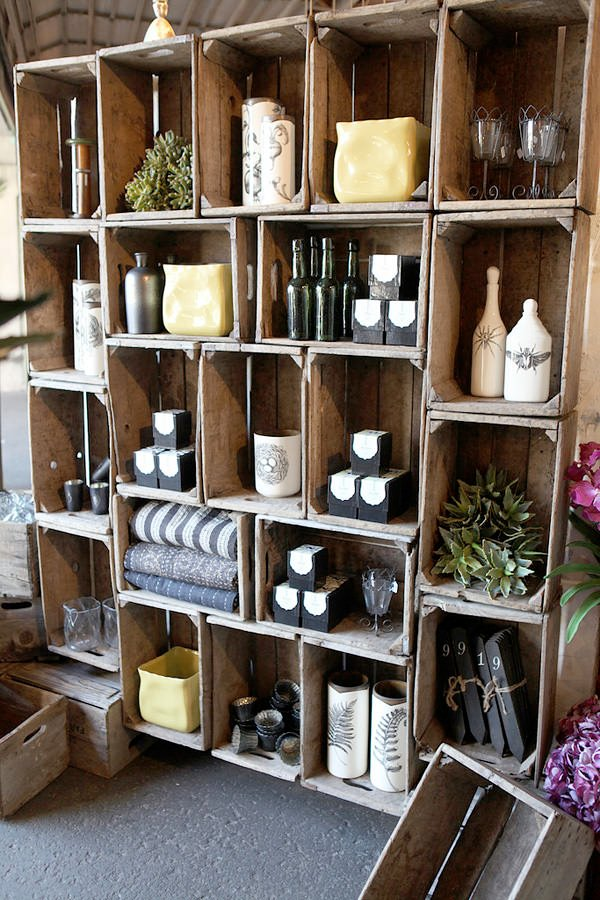 diy wine crate storage projects decorating your small space. Black Bedroom Furniture Sets. Home Design Ideas