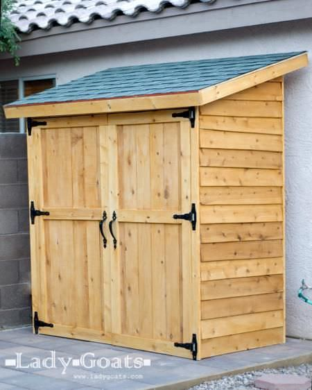 Small storage sheds ideas projects decorating your for Shed project