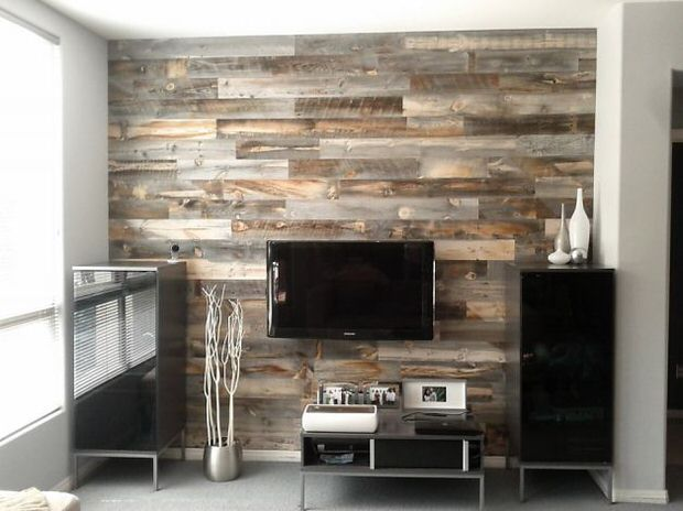 diy wood walls decorating your small space