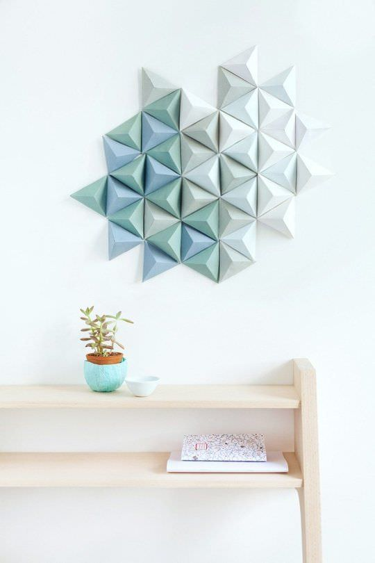 3d Wall Art Projects Decorating Your Small Space