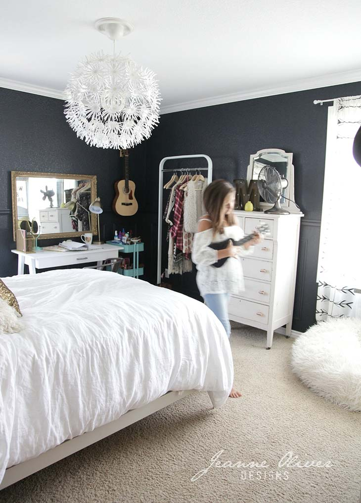 Cute & Stylish Teenage Girl Bedroom Ideas & Room Decor ... on Teenager Room Girl  id=60338