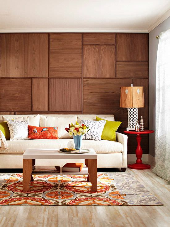 Wood Paneled Room Design: Decorating Your Small Space