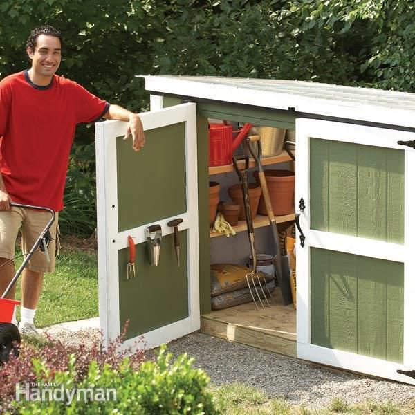 Small storage sheds ideas projects decorating your for Garden shed for lawn mower