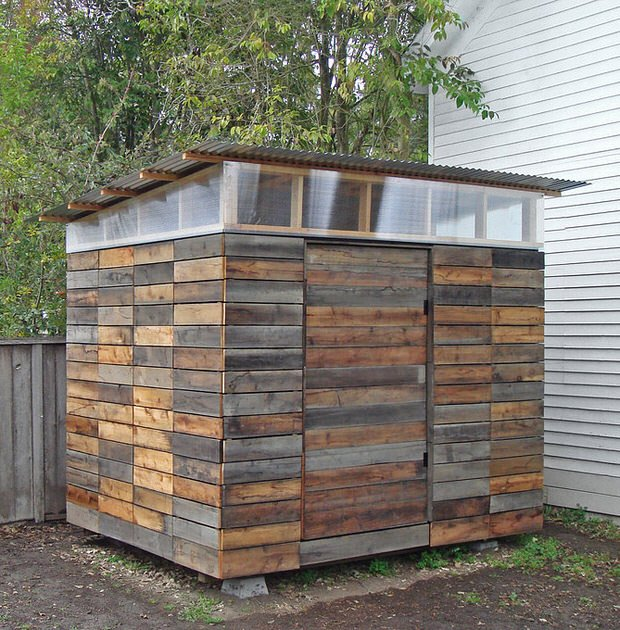 Modern shed on pinterest studio shed sheds and storage for Building a storage shed