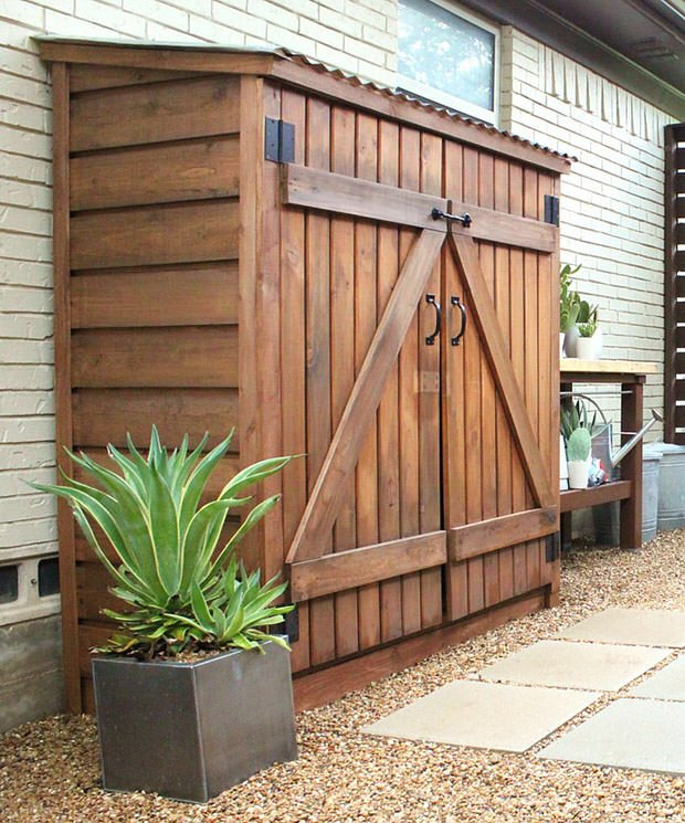 Small storage sheds ideas projects decorating your small space - Lawn mower for small spaces decor ...