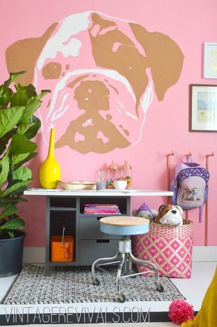 Little Girls Creative Bedroom @ Vintage Revivals[2]