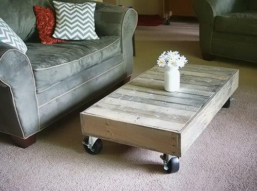 Charming Sleek And Stylish DIY Coffee Tables