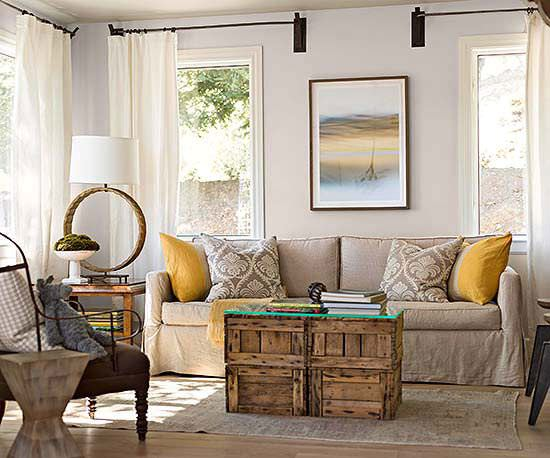 Sleek and stylish diy coffee tables decorating your for End table ideas for small spaces